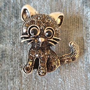 FREE W PURCHASE* cat kitten pin BROOCH